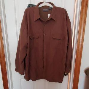Wolverine brown mens work jacket